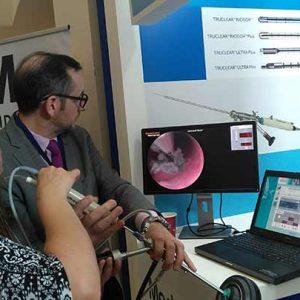 Inauguran Expo Comercial de equipamiento para endoscopía ginecológica en el Hospital San José de Querétaro